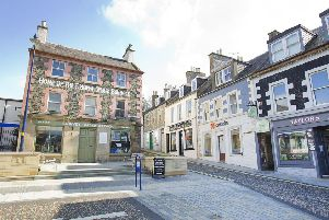 Selkirk's town centre is one of eight in the Borders monitored by CCTV systems.