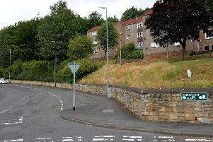 Burnfoot Road in Hawick.