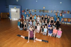 Dance workshops hosted by Serena McCall in aid of Ashlee Easton Neuroblastoma Appeal. Pictures by Jamie Forbes.