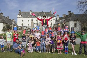 Easter Sunday fun at Traquair House near Innerleithen.