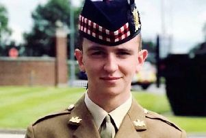 Souter soldier Alistair McLeish.
