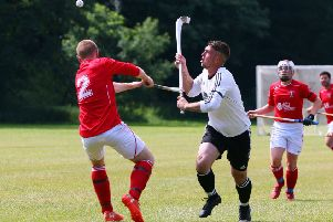 Bute Shinty Club suffered a cup defeat last weekend (Library pic)