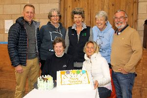 Trustees at the RDA Borders 50th birthday celebrations in September.