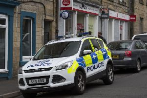 Gala Park Post Office in Galashiels has been robbed again.