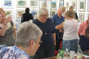 Galashiels Studio Club's annual exhibition opens on Saturday, May 11, in Old Gala House.