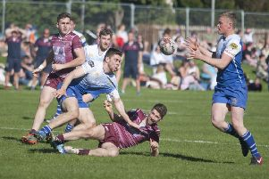 Watsonians v Jed-Forest at last year's Earlston 7s