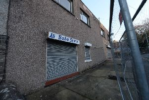 The old Ali Baba convenience store in Curror Street, Selkirk.