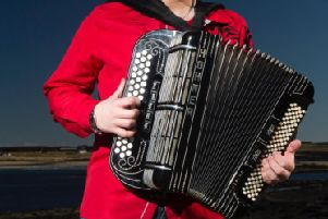 Scottish Accordion Virtuoso and country singer Brandon McPhee will play Buccleuch Centre, Langholm Thursday, May 16.'Brandon's new country show, The Brandon McPhee Experience creates a fusion of country music and Scottish music brought to you in a way only a Scottish dhampion can.