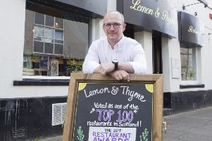 Piotr Dziedzic, chef-patron at the Lemon and Thyme restaurant in Kelso.