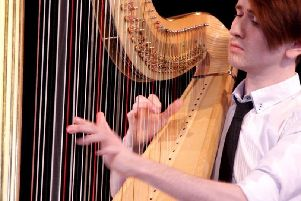 Borders Music and Arts Society has a dream of a concert for you on Thursday, May 30 when concert harpist Richard Allen comes to Mellerstain House, near Kelso.