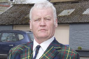Hawick and Hermitage councillor Davie Paterson.
