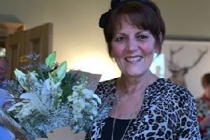 Susan Campbell has retired from Chrysties Furnishing Centre in Hawick.