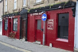 The Central Bar in Peebles.
