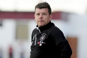 Linlithgow Rose manager Mark Bradley.