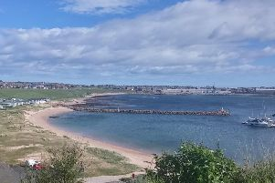 Peterhead Lido achieved Scottish Beach Award status by Keep Scotland Beautiful