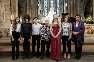 An eighteen year old Swiss-Ukranian student violinist has won Scotland's national music school's highly prestigious Directors' Recital Prize 2019. ''Marie-Sophie Baumgartner, was declared the winner of the 19th annual competition following a closely contested final with three other senior soloists from St Mary's Music School, Edinburgh.''The other finalists were Finn Mannion, cellist, age 17 from Crieff in Perthshire; Fraser Mason, pianist, age 16 from the Scottish Borders and Sofia Ros-Gonz�lez, accordionist, age 16 from Santander in Spain.''The four senior finalist soloists competed before a distinguished panel of judges for the award which took place at St Mary's Episcopal Cathedral, Edinburgh.