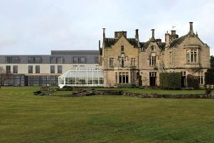 How an extension planned at the Roxburghe Hotel, near Kelso, would look.