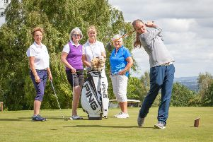 Pro golfer Emma Goodard is offering free tuition to ladies at the Macdonald Cardrona.