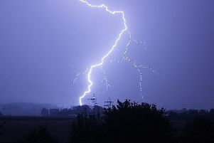 The Met Office has issued a thunderstorm warning for Wednesday and Thursday across the Borders.