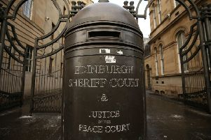 The 54-year-old appeared at Edinburgh Sheriff Court.