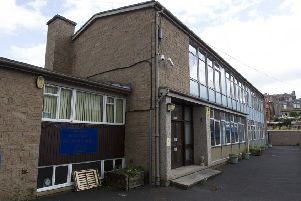 The old St Margaret's RC Primary School in Hawick.