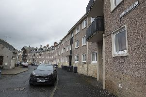 Allars Crescent in Hawick.