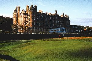 The Macdonald Marine Hotel at North Berwick.