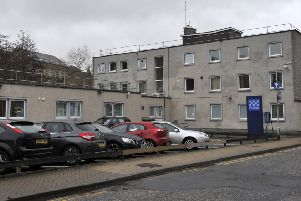 Galashiels police station.