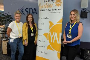 SQA and You Are My Sunshine at the charity announcement event