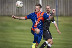 After their frustrating narrow loss to Tweedmouth Rangers, Hawick Royal Albert United have taken full points from their two latest games, scoring nine goals (picture by Bill McBurnie).