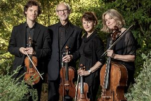 The Fitzwilliam Quartet, set to play in Melrose next month.
