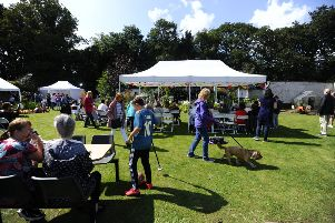 Cyrenians Summer Fete 2019 in Dollar Park walled garden on Saturday, August 17. Picture by Alan Murray.