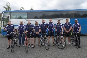 The Lavender Touch's team of riders.