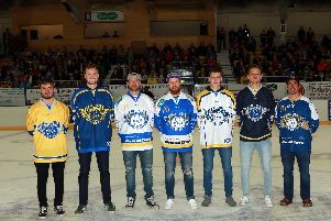 Fife Flyers reveal the official team jerseys for the 2019/20 season.