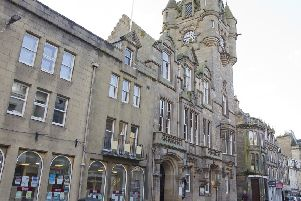 Hawick Town Hall on High Street.