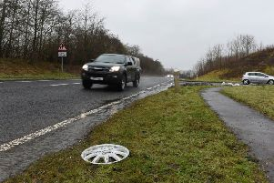 The A7 at Teviothead in the Borders.