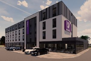 How the Premier Inn planned at Tweedbank as part of the �10m Borders Gateway development will look.