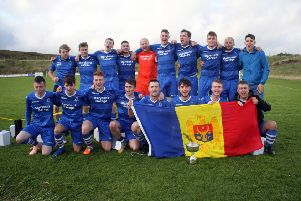 West Side brought the Moldova Lewis Cup home to Barvas this week where it will sit alongside the ABC Cup on the club sideboard.