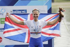 A World Championship to cherish for Selkirk rower Maddie Arlett (picture by Nick Middleton)