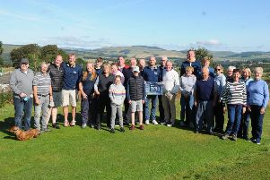 Gregor Townsend visits Selkirk Golf Club as part of his challenge to play a hole at each of the region's 21 courses.