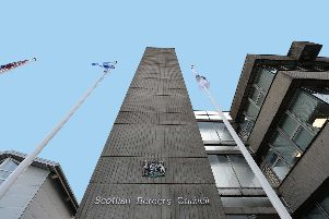 Scottish Borders Council's Newtown headquarters.