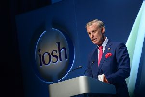Professor Andrew Sharman, originally from Jedburgh,  is the new president of the Institution of Occupational Safety and Health (IOSH.