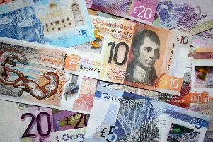Businesses are being warned to check notes, especially those of high currency value, after fake ones were submitted in the Borders yesterday.