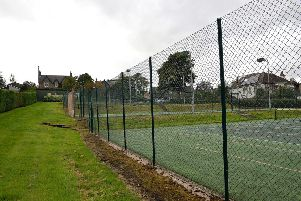 Selkirk's tennis courts off Hillside Terrace.