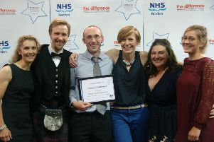 NHS Borders Awards: In addition, Chair's Commendations were presented to:''Emergency Department