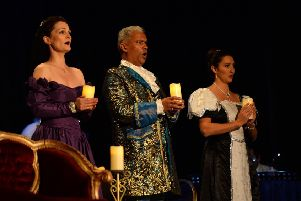 Magical Mozart by Candlelight being staged at Kelso's Tait Hall last year.
