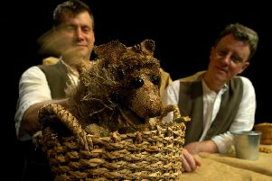 Edinburgh's Puppet State Theatre Company staging The Man Who Planted Trees.