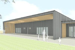 How a planned new early-years centre at St Ronan's Primary School in Innerleithen will look.