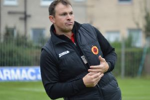 David Gormley has had a perfect start as Rossvale manager (pic: HT Photography/@dibsy_)
