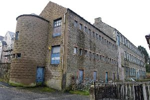 The former Buccleuch Mill in Green Lane in Hawick.